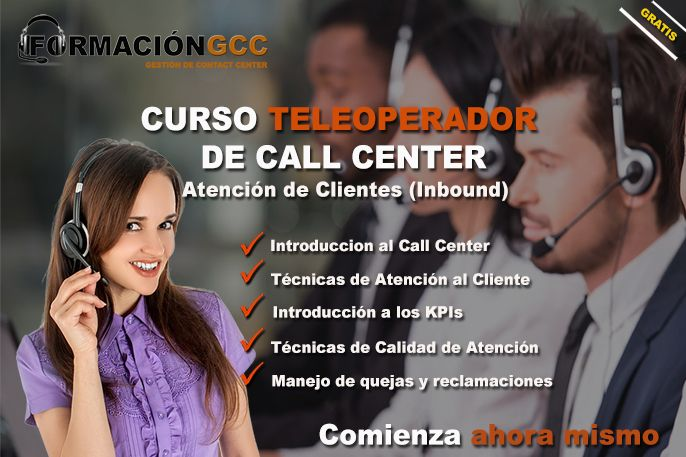 curso teleoperador de call center para aspirantes al trabajo de call center