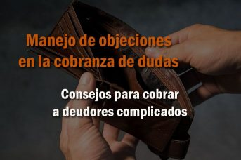 manejo de objeciones en cobranza de deudas