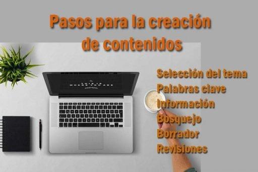creación de contenido digitales para paginas web