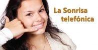 La sonrisa telefónica en el call center