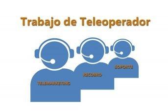 trabajo de teleoperador